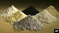 幾種稀土氧化物