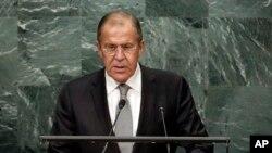 Bộ trưởng Ngoại giao Nga Sergey Lavrov.