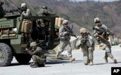 美韩2015年联合军事演习