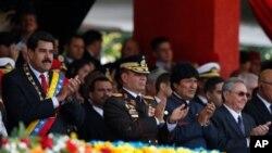 Néstor Reverol fue ministro para las Relaciones Interiores y Justicia durante el gobierno del fallecido Hugo Chávez (1999-2013) y estuvo a cargo de la Oficina Nacional Antidrogas de Venezuela (ONA).