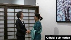 ကုလအထူးကိုယ္စားလွယ္မစၥယန္ဟီလီ ေဒၚေအာင္ဆန္းစုၾကည္ႏွင့္ေတြ႔ဆံု (သတင္းဓာတ္ပံု- NLD Chairperson)