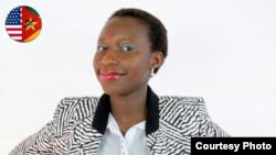 Juscelina Guirengane - participante moçambicana Mandela Washington Fellowship