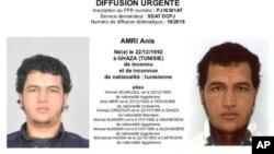 Anis Amri dan asalin kasar Tunisia da Jamus ke nema