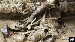 سیلاب ها در پاکستان بیش از ۳ میلیون تن را متاثر نموده است