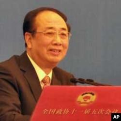 全国政协发言人赵启正举行新闻发布会