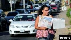 """El editorial de La Prensa del viernes, titulaba """"Se ha imaginado vivir sin información?""""."""