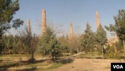 مقبره گوهر شاد بیگم در شهر هرات