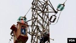 elektrik telleri izolasyonla kaplandı
