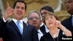 La Voz de América constató que la Alta Comisionada de DDHH de la ONU, Michelle Bachelet, que llegó el pasado miércoles a Caracas, entró en la sede parlamentaria el viernes 21 de junio de 2019, pero no ofreció declaraciones a la prensa.