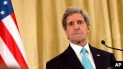 امریکی وزیر خارجہ جان کیری (فائل فوٹو)