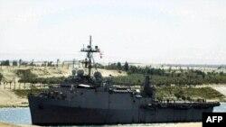 Yüzen üsse dönüştürülmesi planlanan USS Ponce gemisi