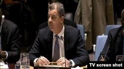 Serž Bramerc, glavni tužilac Haškog tribunala u Savetu bezbednosti Ujedinjenih nacija, 10. decembar 2014.