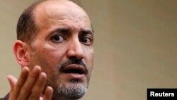 Ông Ahmed Jarba, nhà lãnh đạo Liên Minh Quốc Gia Syria