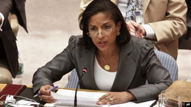 Američka ambasadorka u UN, Suzan Rajs