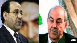 Іракські лідери Нурі аль-Макі та Аяд Аллаві