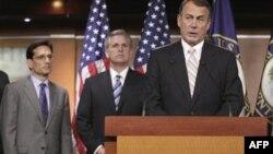 Cumhuriyetçi Parti Temsilciler Meclisi Başkanı John Boehner
