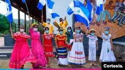 Nicaragua: Lanzamiento de Fiestas Patrias. [Foto: cortesía Ministerio de Educación].