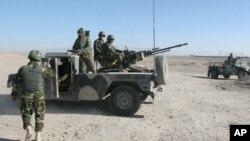 نیروهای افغان در هلمند
