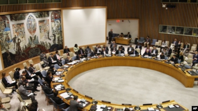 United Nations Security Council at its meeting on the issue of Iran and nuclear non-proliferation, September 7, 2011