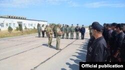 S-300 PMU və S-125 2TM tipli raketlərin şərti atəşi ilə qarşı tərəf məhv edilib