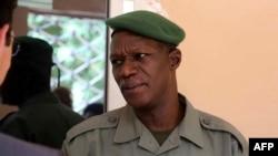 Le général du G5 Sahel Didier Dacko lors d'une réunion à Bamako, le 1er août 2017.