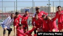 تیم ملی فوتبال ساحلی افغانستان در جام بین المللی چین حایز مقام دوم شد.