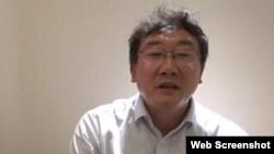 互联网上传播的中国最高人民法院法官王林清自述视频的截图。