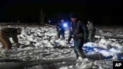 عملیات جستجو از یکشنبه شب آغاز شد.
