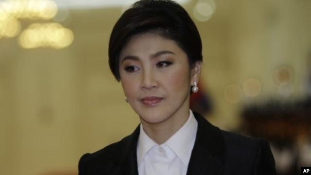 Thai Prime Minister Yingluck Shinawatra (File Photo - September 15, 2011)