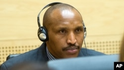 ARCHIVES - Bosco Ntaganda attend une audience à la Haye, à la CPI