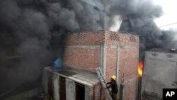 لاہور میں آتشزدگی، کم از کم 24 زخمی