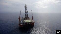 Naftna platforma u Meskičkom zalivu