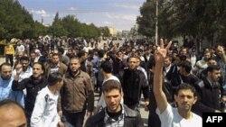 Протесты в Хомсе 22 апреля 2011г.