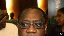 Nigeria's Finance Minister Olusegun Aganga in Abuja (File Photo)