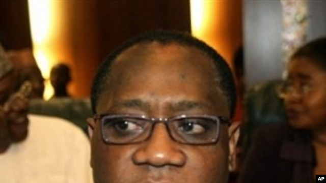 Nigeria's Finance Minister Olusegun Aganga in Abuja (File Photo)