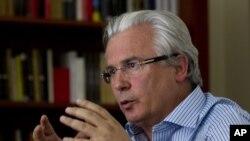 Baltasar Garzón, advogado espanhol da equipa de defesa de Álex Saab