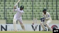 بنگلہ دیش اسکواڈ میں بائیں بازو کے فاسٹ بالر مستفیض الرحمٰن شامل نہیں ہیں۔ (فائل فوٹو)