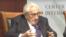 前美國國務卿基辛格10月10日在華盛頓戰略與國際問題中心(CSIS)出席討論會(網絡截圖)