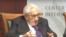 前美国国务卿基辛格10月10日在华盛顿战略与国际问题中心(CSIS)出席讨论会(网络截图)