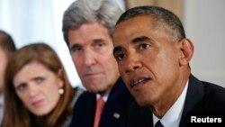 El presidente Obama dijo que la lucha contra el ébola es una prioridad para Estados Unidos y para el resto de naciones.