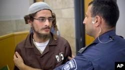 سرکرده یک گروه یهودی افراطی که به دنبال آتش سوزی عمدی بازداشت شد