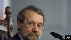 Iranian Parliament Speaker, Ali Larijani (file photo)
