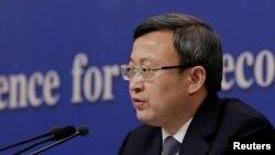 ونگ شوون معاون وزیر بازرگانی چین - آرشیو