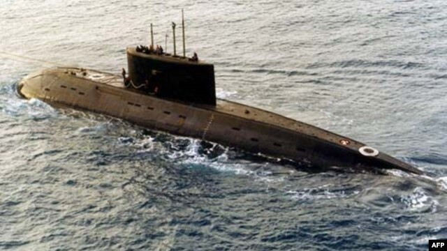 Tàu ngầm Kilo do Nga sản xuất