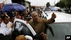 El candidato de la izquierda, Andrés Manuel López Obrador, sigue con de gira por todo México.