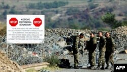 Sırbistan ve Kosova arasındaki sınır etnik Sırp bölgesinde bulunuyor. Etnik sırpların Arnavut polisleri bölgelerinde istememesi üzerine sınırın korumasını NATO üstlendi