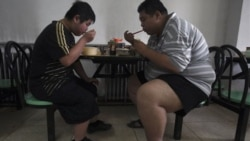 Patients at a weight reduction hospital in Tianjin, in China, where obesity is on the rise as living standards improve
