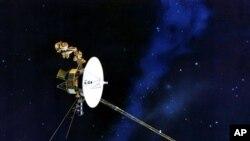 Pesawat antariksa 'Voyager 1', yang dikontrol oleh badan antariksa Amerika atau NASA (foto: dok).