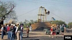 La mina estaba funcionando de manera irregular y en condiciones precarias.