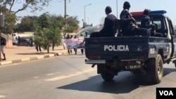 Polícia Nacional de Angola (Foto de Arquivo)